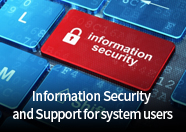 Information Security and Support for system users