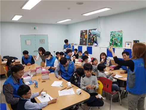 사회보장정보원, 지역 아동 대상 코딩 교육봉사 실시